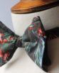 Midnight Bloom Bow Tie