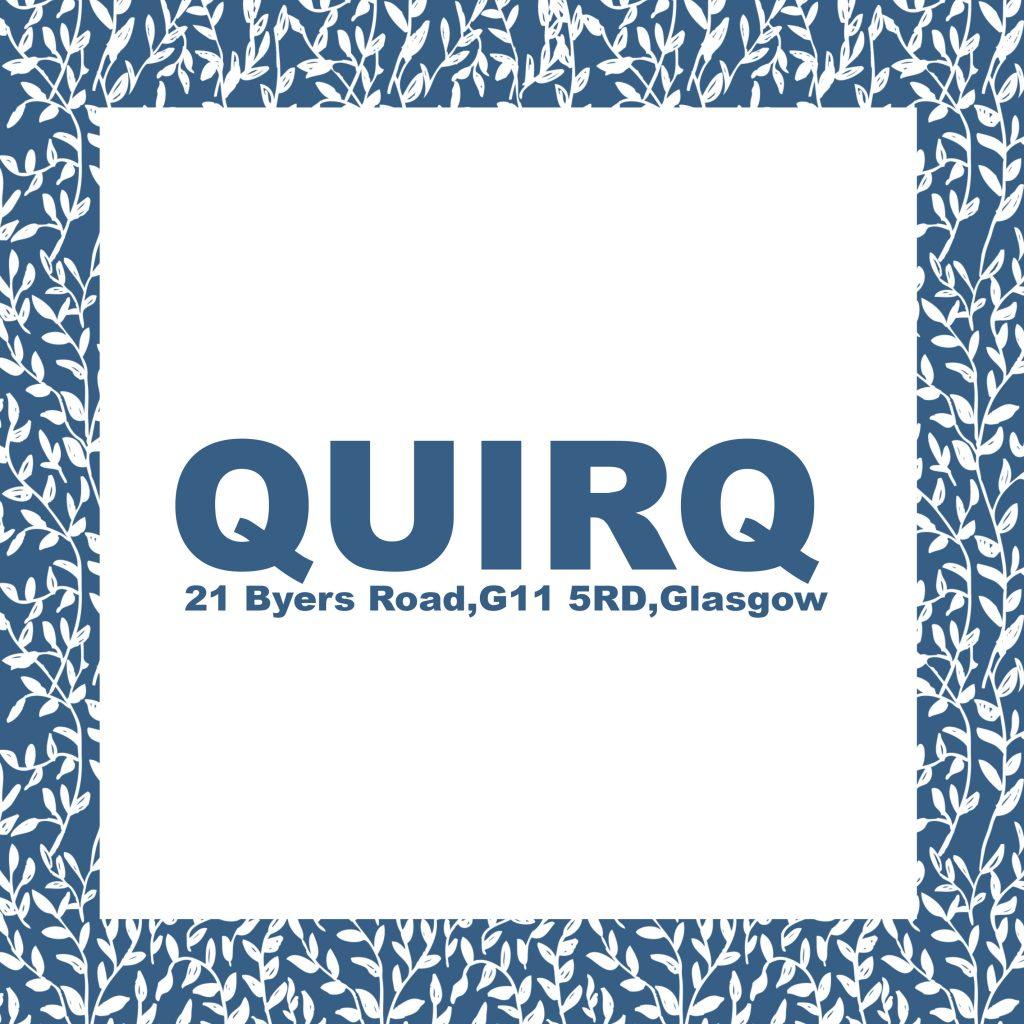 quirq,byers road, glasgow,