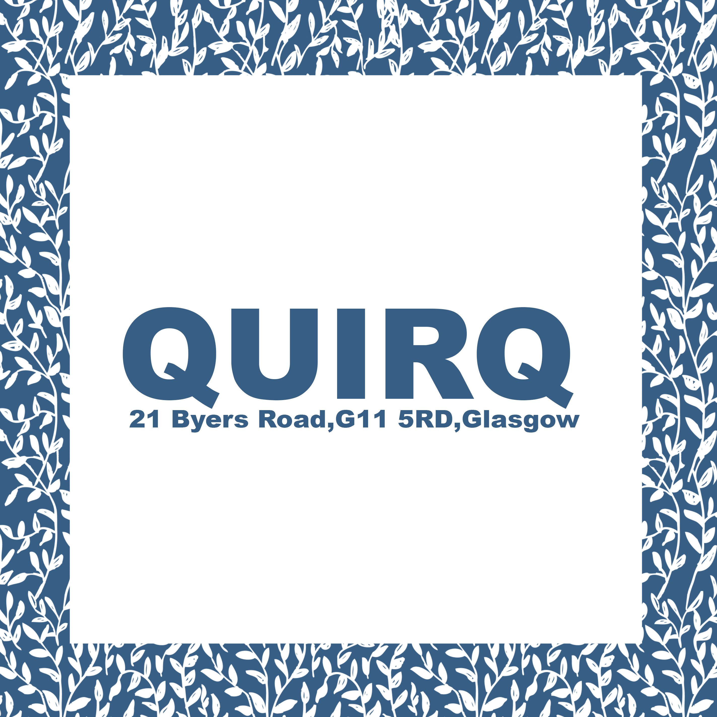 quirq,byers road, glasgow,
