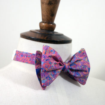 paisley, pattern,renfrewshire,handmade in scotland,bowtie,glasgow,renfrew,cochran,textiles,mens fashion, mens style, mens accessories, dapper, formal, smart casual, tie,bow,paisley 2021,pink,city of culture,glasgow,edinburgh,scotland,print,josef mcfadden,menswear,fathers day,gifts