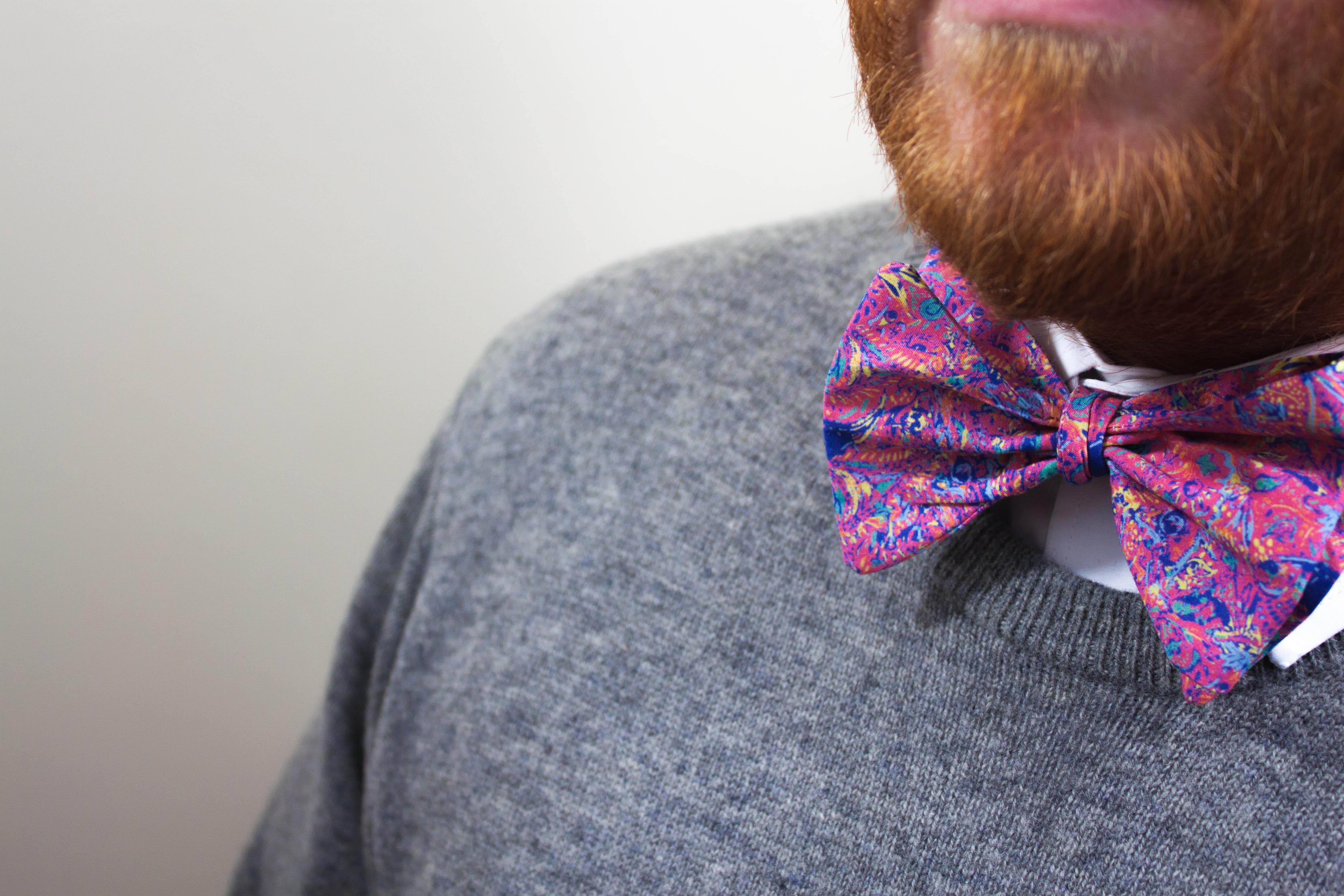 paisley, pattern,bowtie,bow,tie,print,design,josef mcfadden,beard,handmade in scotland,glasgow,renfrewshire,edinburgh,scotland,mens fashion,men,menswear,mens style,dapper,mens accessories,wedding bow ties