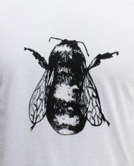honeybee-tshirt-detail